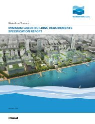 minimum green building requirements specification report