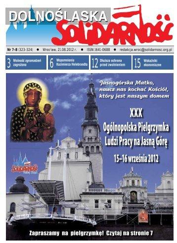Gazeta do pobrania w pliku *pdf - Solidarność