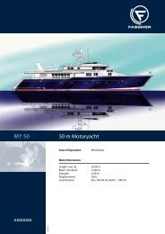 50 m Motoryacht - Fr. Fassmer GmbH & Co. KG