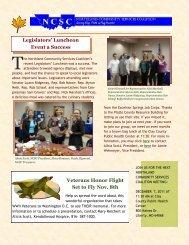 Legislators' Luncheon Event a Success Veterans Honor Flight Set to ...
