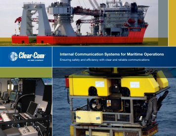 Internal Communication Systems for Maritime Operations - Jands