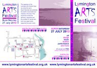 Lymington Arts Festival - Brand New Forest