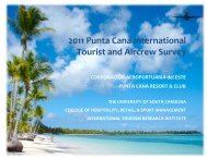 International Tourist Exit Survey - College of Hospitality, Retail and ...