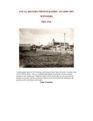2007 Awards - Vincent Heritage