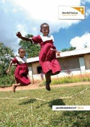Jahresbericht 2012 - World Vision