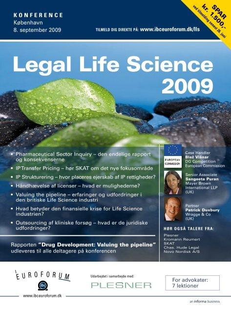 Legal Life Science 2009 - IBC Euroforum