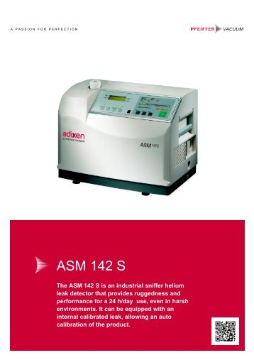 Vacuum Blower Data Sheet : Data sheet · high performance compact asm td
