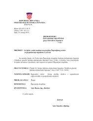 Izvješće o aktivnostima na projektu Županijskog centra za - Splitsko ...