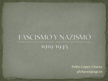 """Presentación """"Fascismo y nazismo, 1919-1945"""""""