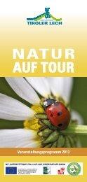 Download PDF [2,6MB] - Naturpark Tiroler Lech