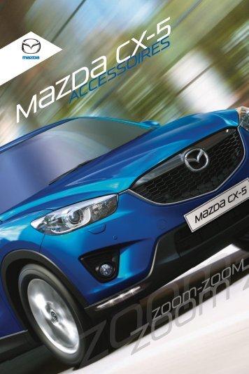 Mazda CX5 accessoires
