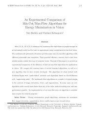 An Experimental Comparison of Min-Cut/Max-Flow Algorithms for ...