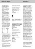 Bedienungsanleitung - Nova - Seite 2