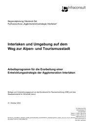 Interlaken und Umgebung auf dem Weg zur Alpen- und ... - Pro Stedtli
