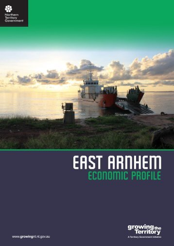 East Arnhem Economic Profile 2009 - Department of Regional ...
