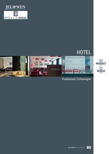 Türlösungen für Hotels - Beschlag Paul GmbH