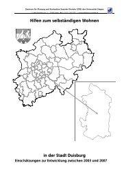 Stadt Duisburg - Universität Siegen