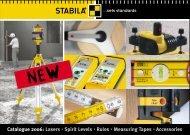 PDF Download: The new STABILA Catalogue.Full Range