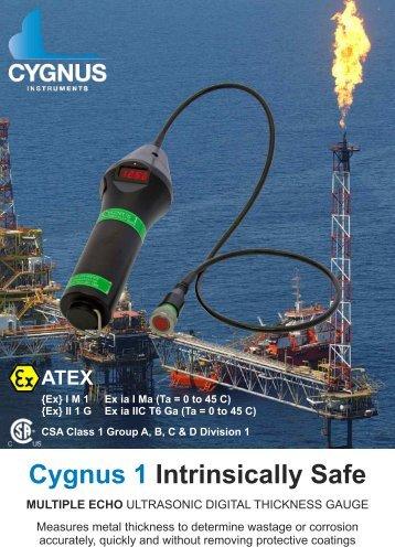 Cygnus 1 Intrinsically Safe Brochure - Issue 2