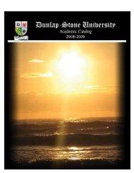 DSU 2008-2009 Academic Year Catalog - International Import ...