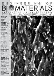 63-64 - Polskie Stowarzyszenie Biomateriałów