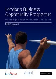 London's Business Opportunity Prospectus - London Chamber of ...