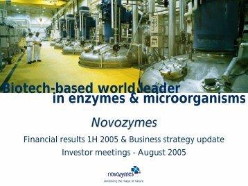 Q2 - Novozymes