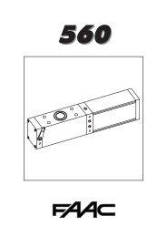 automazione 560 - Faac