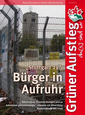 INH Stuttgart 21 – Volksabstimmung: erst - Winfried Hermann