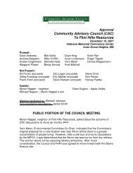December 10, 2007 Approved Minutes - Community Advisory ...