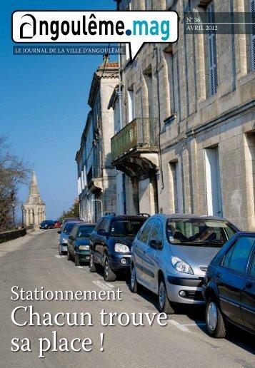 Stationnement - Angoulême