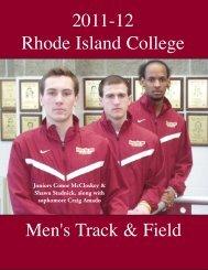 Men's Track & Field - Rhode Island College Athletics