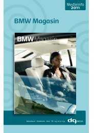 BMW Magasin - DG Media