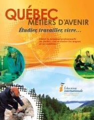 MÉTIERS D'AVENIR - L'Etudiant