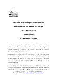Os Hospitalários no Caminho de Santiago - CM Matosinhos