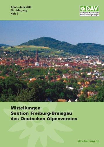berichte - Deutscher Alpenverein Sektion Freiburg-Breisgau