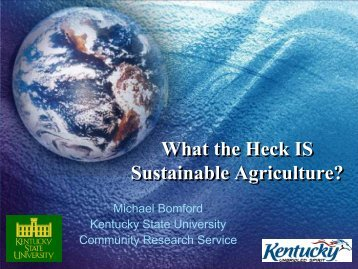 2.9 Mb pdf - Kentucky State University Organic Agriculture Working ...