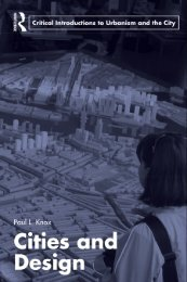 Cities and Design (Routledge Critical Introductions ... - AAAARG.ORG