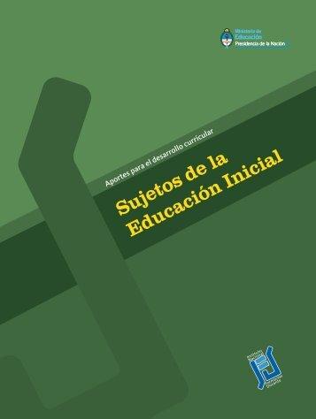 Sujetos de la Educación Inicial - Repositorio Institucional del ...