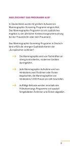 MAMMOGRAPHIE- SCREENING - Gemeinsamer Bundesausschuss - Seite 3