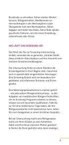 MAMMOGRAPHIE- SCREENING - Gemeinsamer Bundesausschuss - Seite 5