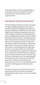 MAMMOGRAPHIE- SCREENING - Gemeinsamer Bundesausschuss - Seite 6