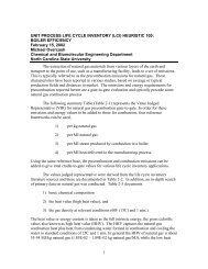 Unit Process HEURISTICS 02 Natural gas precombustion 2-2002
