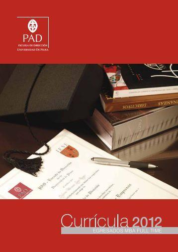 EGRESADOS MBA FULL TIME - PAD Escuela de Dirección