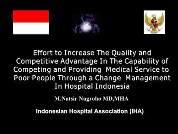 Efforts to Increase the Quality and Competitive Advantage in the ...
