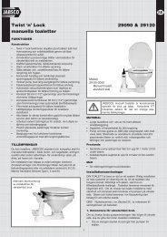 Twist 'n' Lock manuella toaletter 29090 & 29120