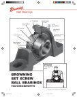Browning bearings catalog - Hasmak - Page 4