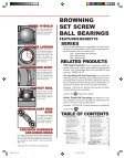 Browning bearings catalog - Hasmak - Page 5