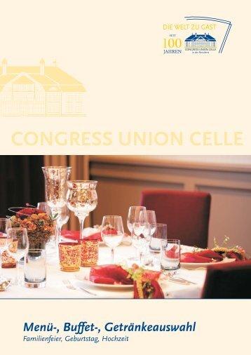 CONGRESS UNION CELLE CONGRES - Restaurants Hannover