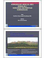 week7-gl-2121-general-hydrogeology-metoda-eksplorasi2 - ITB